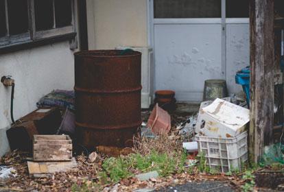 ゴミの不法投棄・害虫・悪臭の発生