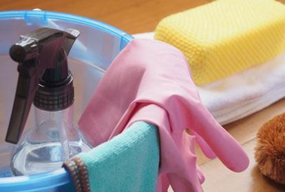 室内清掃・庭掃除